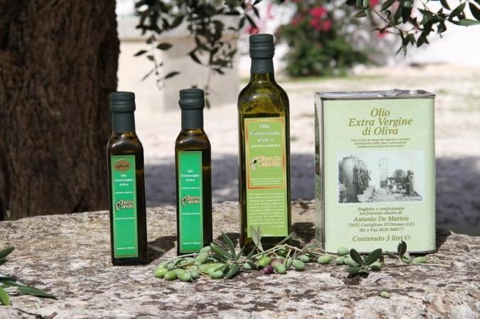 Nuestro propio aceite de oliva