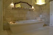 En un baño...