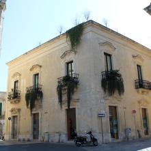 Un rincón del centro de Lecce.